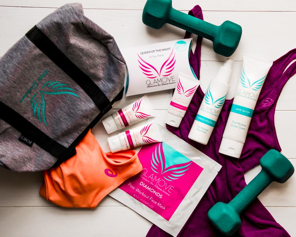 Fitness Skincare con i nuovi prodotti Glamove