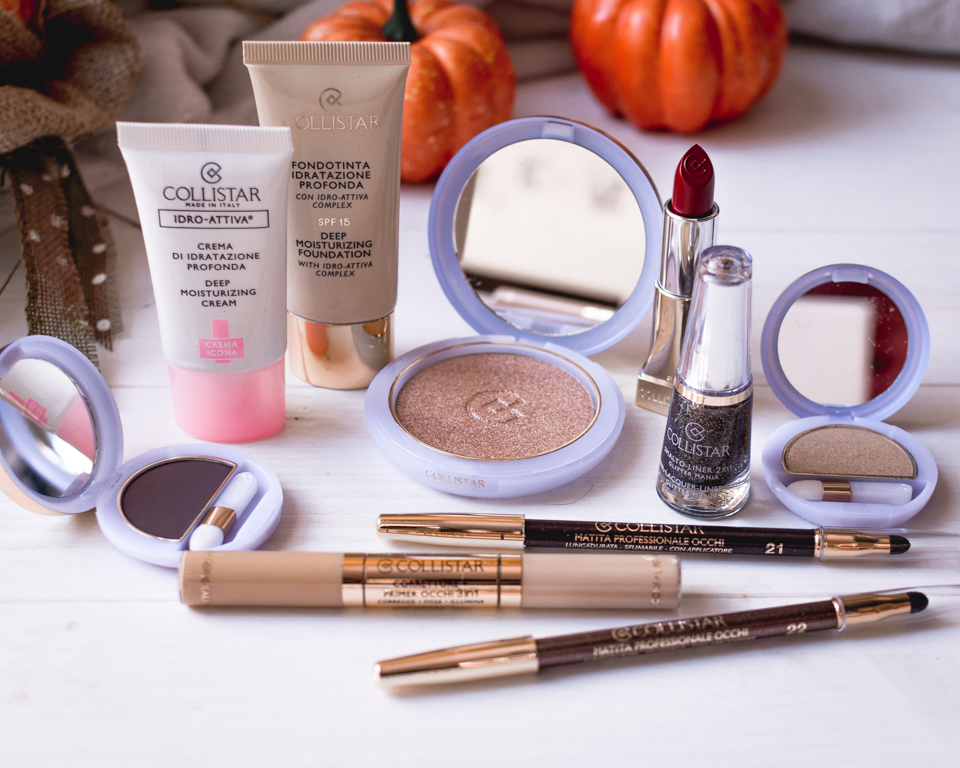 Novità Collistar: make-up d'autunno e linea natura