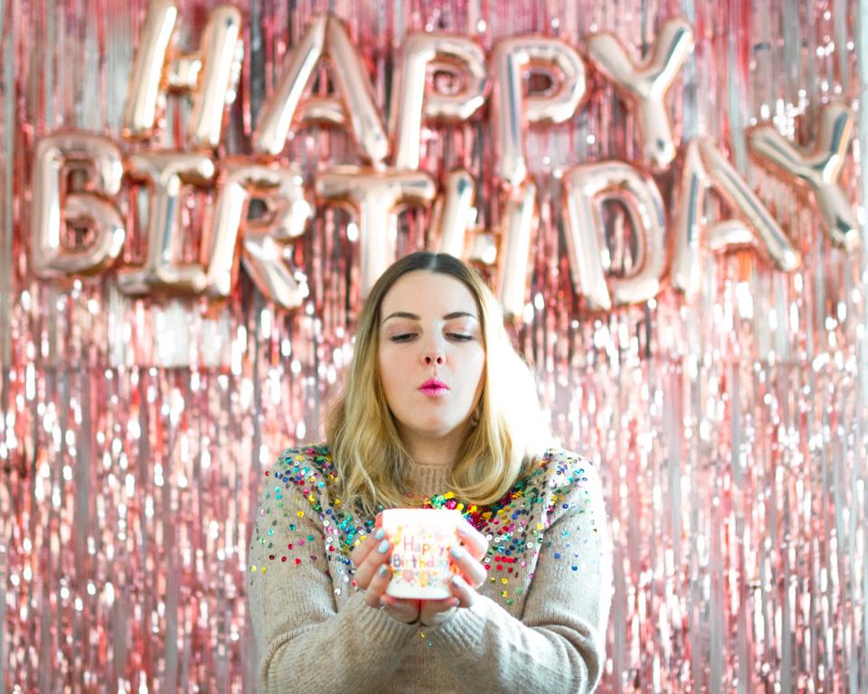 Buon Compleanno a me! Un anno in più: #fede31