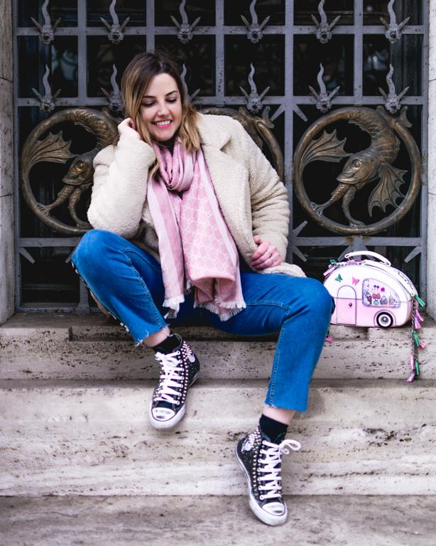 Vendula London e la nuova Sweetie Caravan // OOTD Pink&White for Spring