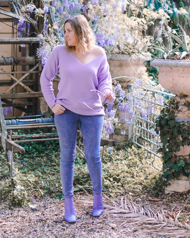 Lilac Passion: i miei outfits lilla creati con i capi trovati su Amazon Moda