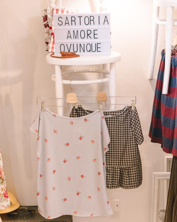 Sartoria L'amore è Ovunque: handmade Made in Italy con il cuore // OOTD