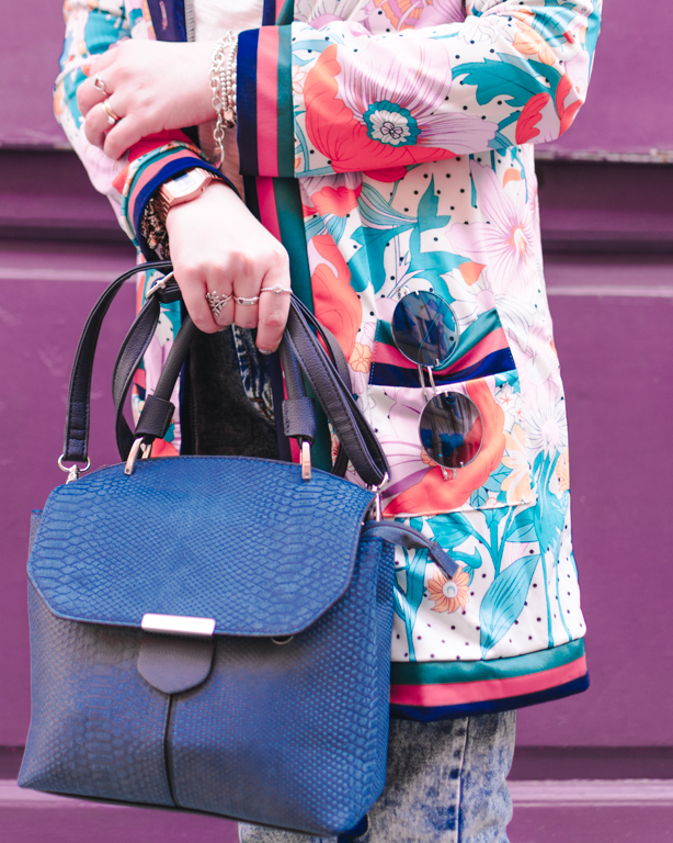 Accessori blu: new colorfully OOTD for last spring days in the city