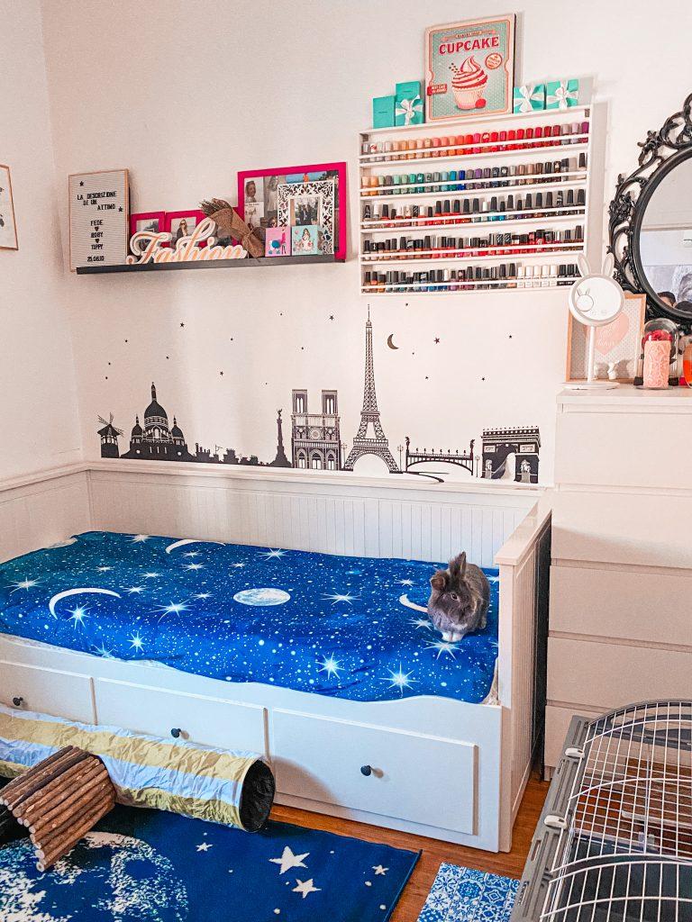Make-up room: decoriamo insieme il mio ufficio con luna e stelle!