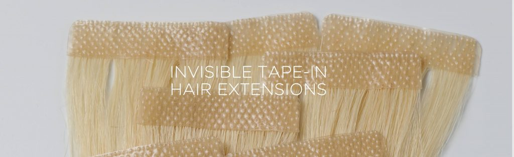 Hair Extension: come applicare quelle con l'Invisible Tape-in