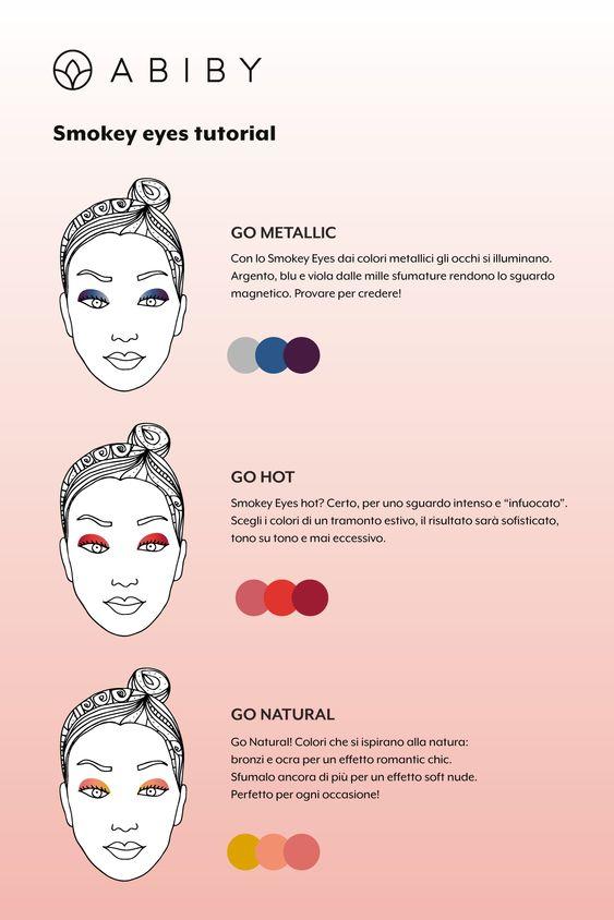 Smokey Eyes colorato: trend autunno! Abiby Beauty Box - Ottobre