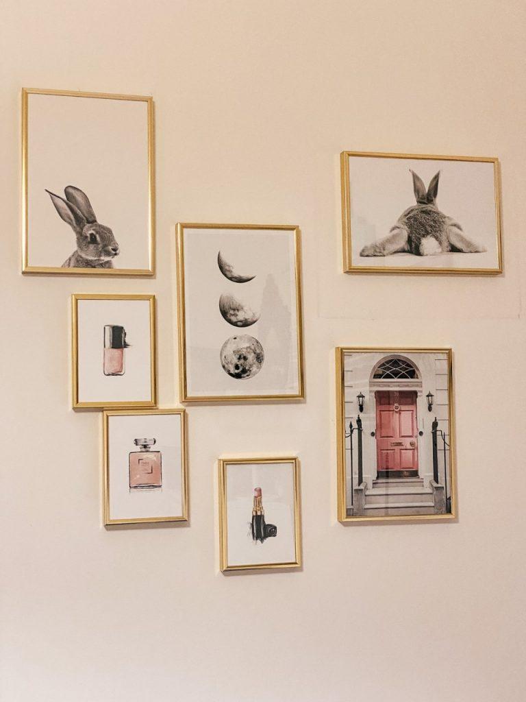 Galleria a parete: come rinnovare un angolino di casa!