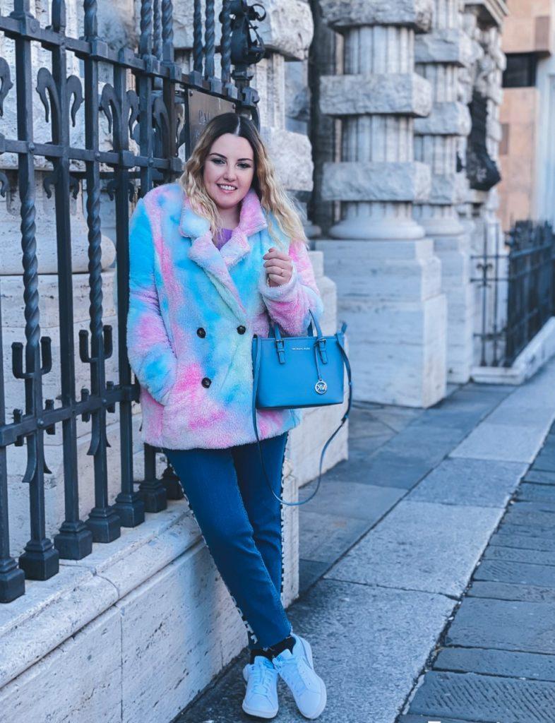 Color Block: giacche e maglioni super colorati che fanno tendenza // OOTD