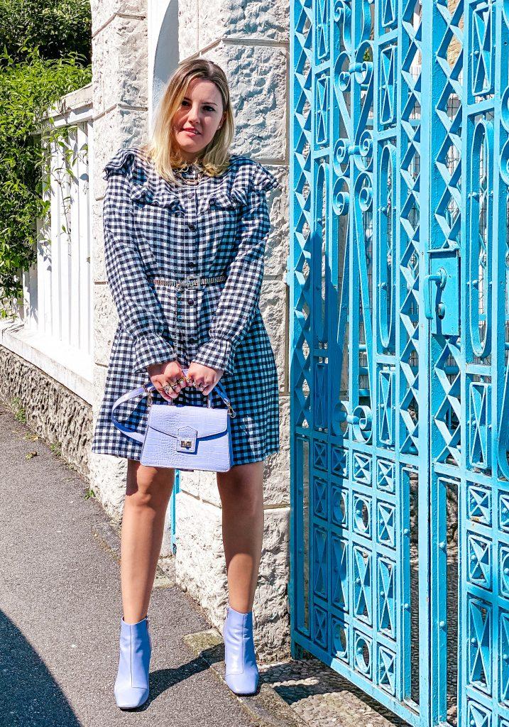 Fantasia Vichy e bianco panna: colori semplici e idee look per la primavera