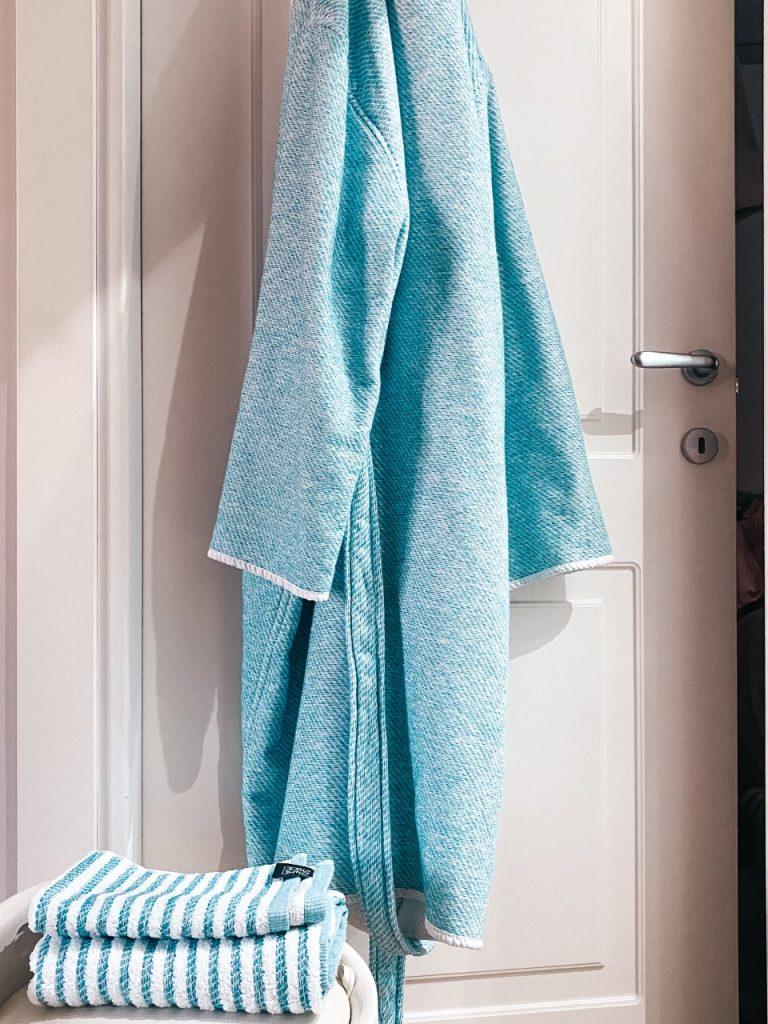 Completo letto 100% cotone e spugne: camera e bagno come un hotel a 5*